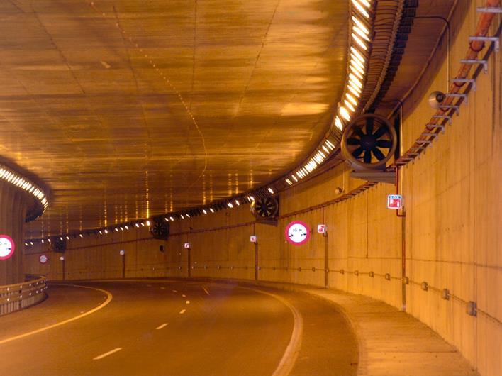 جت فن (Jet fan) در تونل ترافیکی