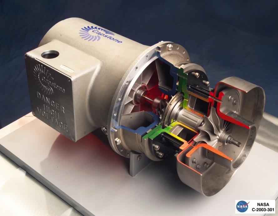 میکروتوربین (Microturbine)
