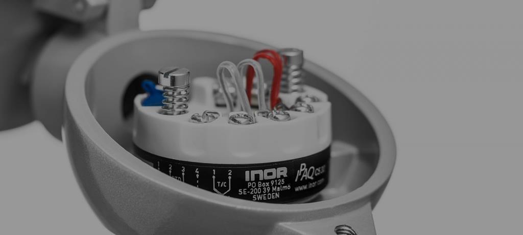 ترانسمیترهای دمای هدمانت یا هدمونت (Headmount) ساخت اینور (INOR) سوئد