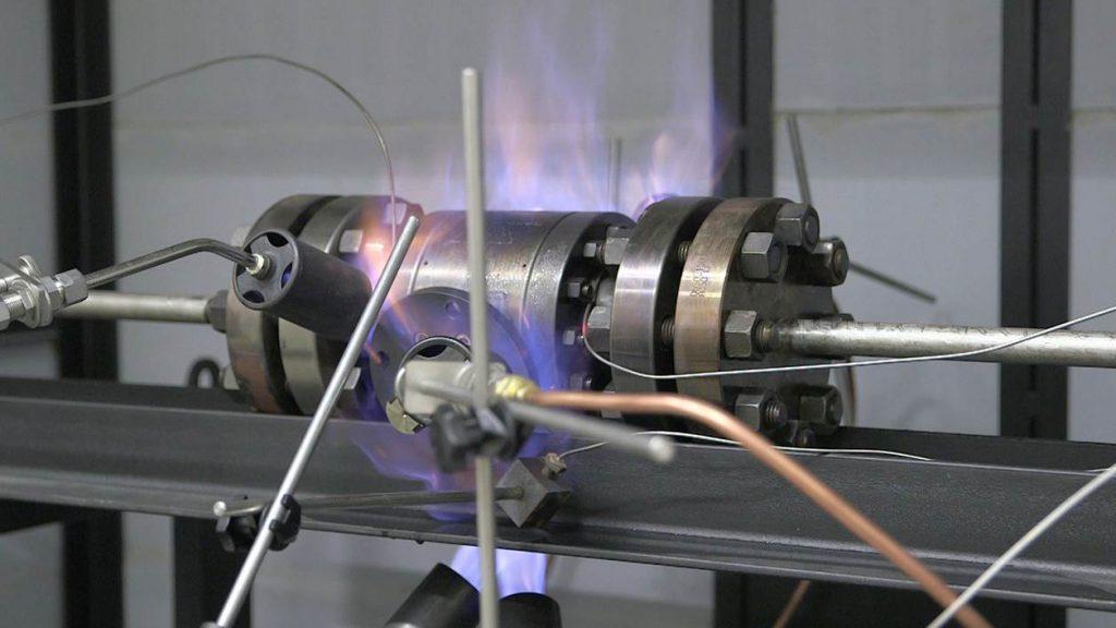 تست آتش در شیر صنعتی چیست؟
